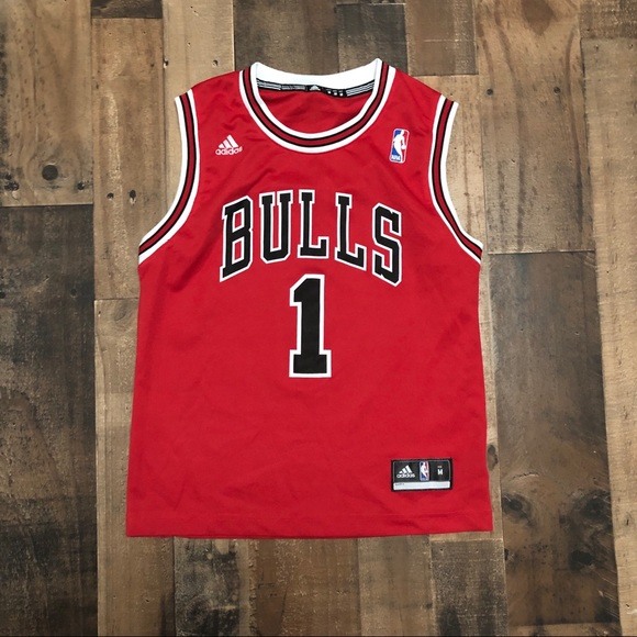 low priced c8309 f45fc Derrick Rose Chicago Bulls NBA Youth Jersey